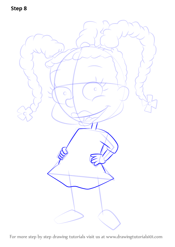 Carmichael How from to  Susie Step by Rugrats Draw Step
