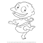 How to Draw Tommy from Rugrats