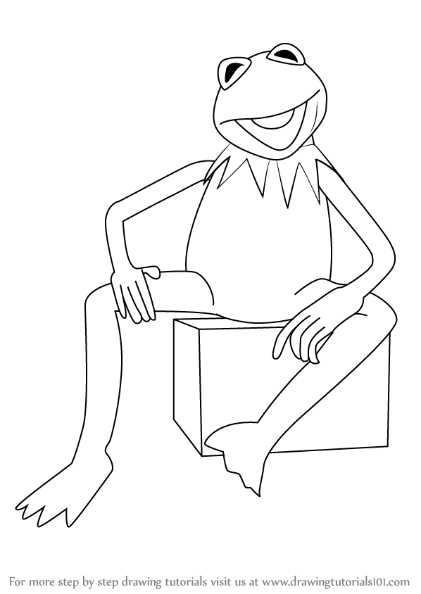 Learn How To Draw Kermit The Frog From Sesame Street Sesame Street