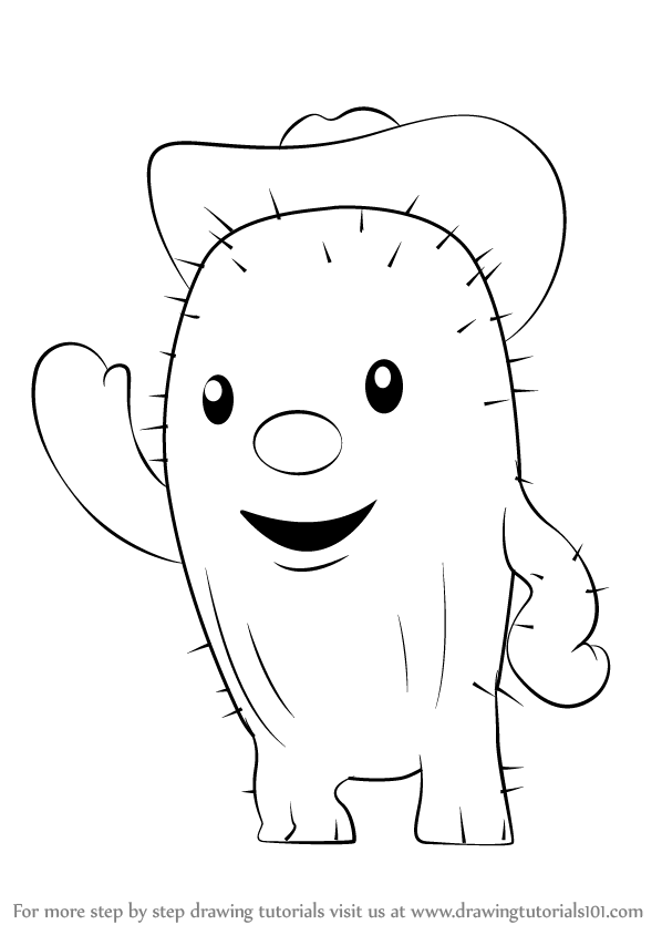 sheriff callie coloring pages - learn how to draw toby from sheriff callie 39 s wild west