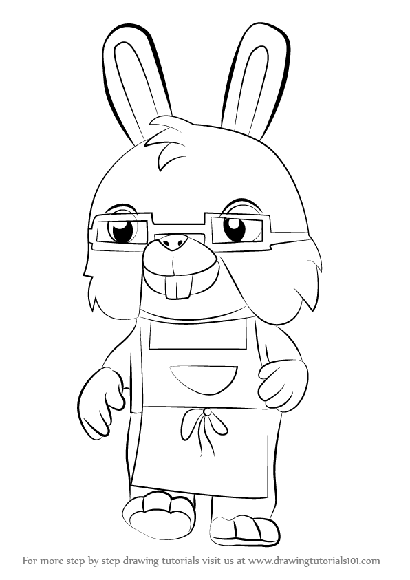 Learn How to Draw Uncle Bun from