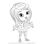How to Draw Leah from Shimmer and Shine