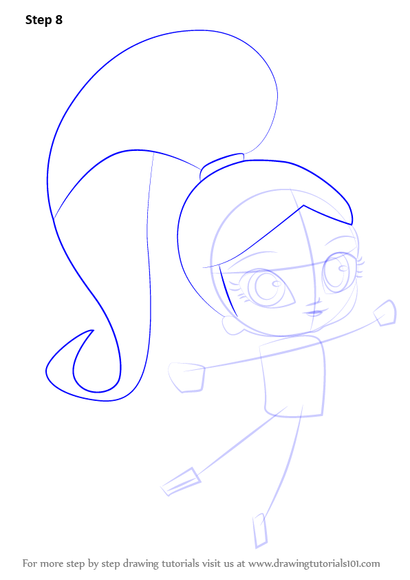 learn how to draw shimmer from shimmer and shine shimmer