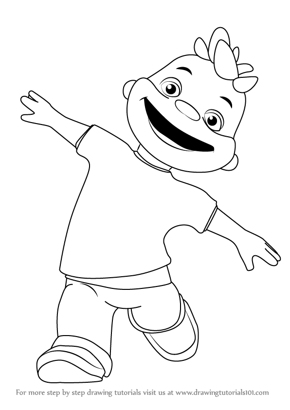 Learn How to Draw Gerald from Sid the Science Kid Sid the Science