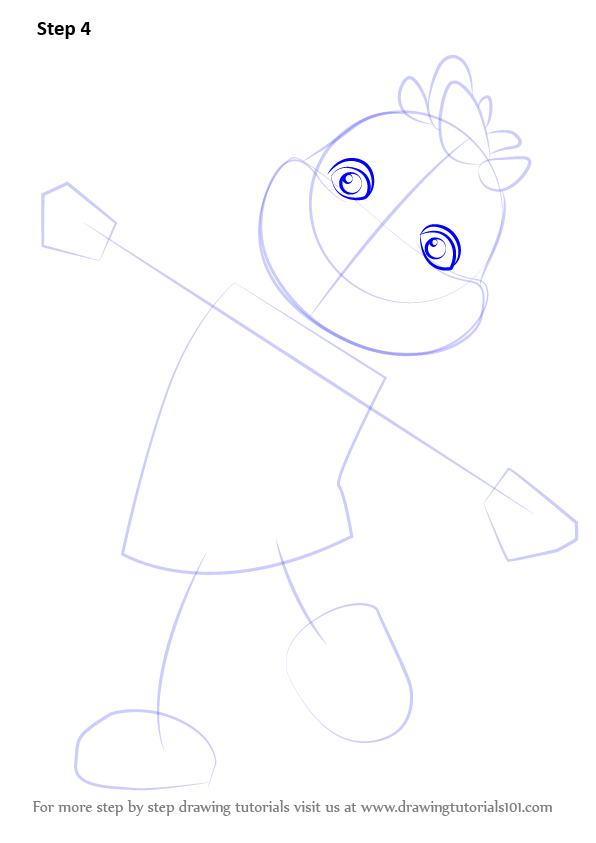 Learn How to Draw Gerald from Sid the Science Kid (Sid the Science ...