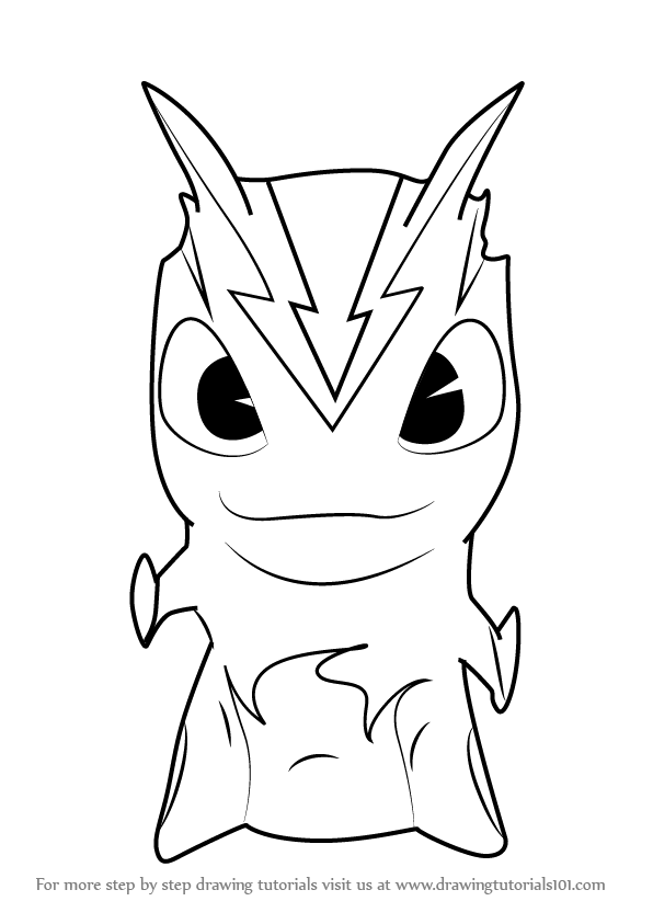 Learn how to draw burpy from slugterra slugterra step by for Slugterra coloring pages burpy