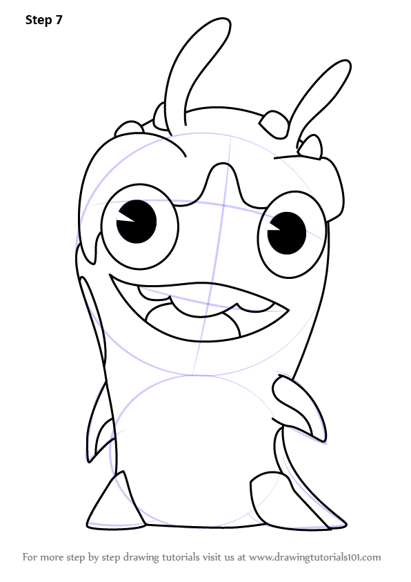 Slugterra Coloring Pages Of Jules