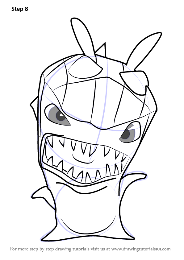 Learn How To Draw Greneater From Slugterra Slugterra