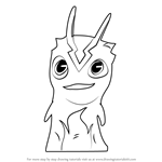 How to Draw Infurnus from Slugterra