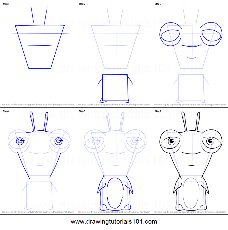how to draw lavalynx from slugterra printable step by step drawing