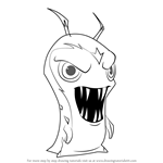 How to Draw Photomo from Slugterra