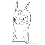 How to Draw Pyringo from Slugterra