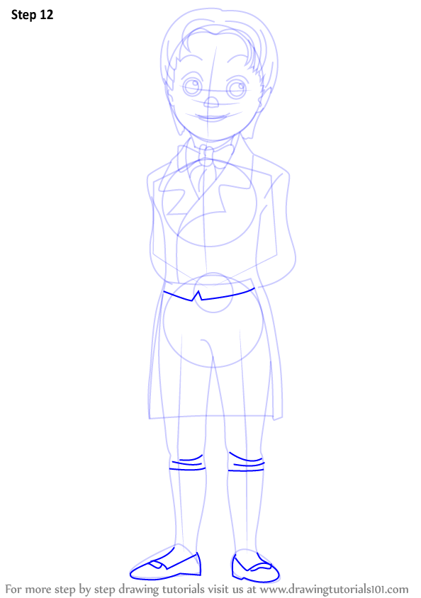 learn how to draw prince james from sofia the first  sofia
