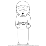 How to Draw Liane Cartman from South Park