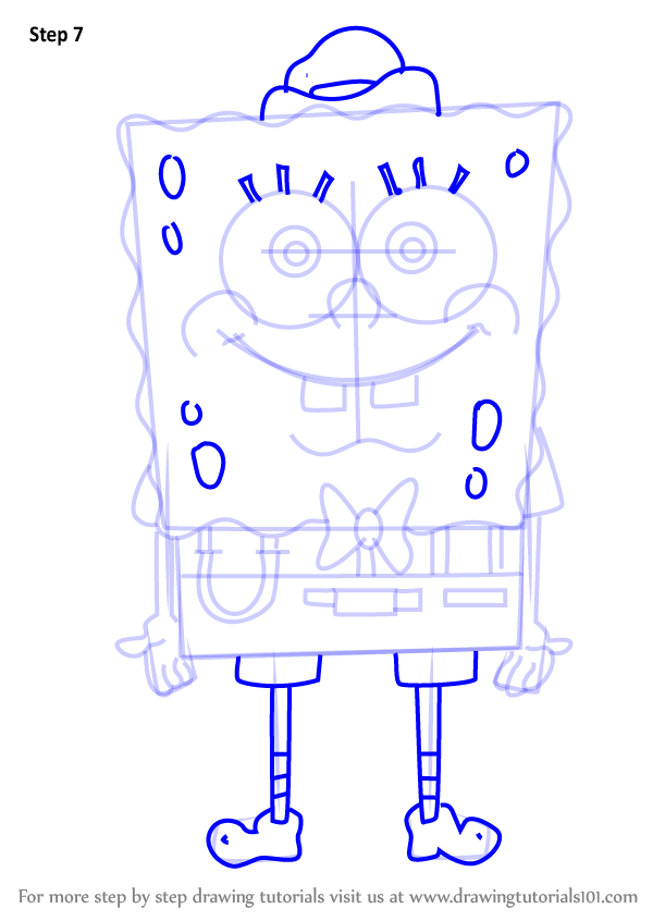 Spongebob Squarepants Drawings Step By Step Learn How to Dr...