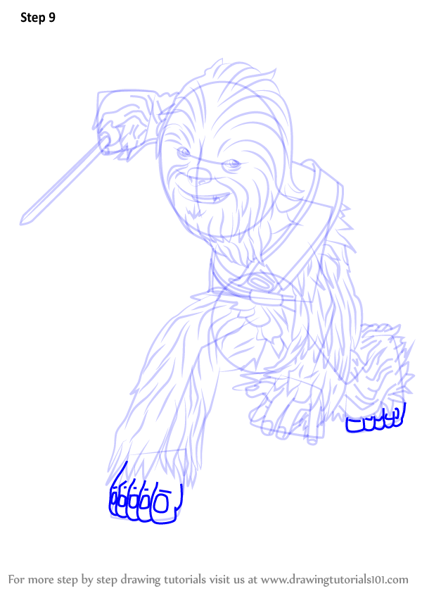 Learn How To Draw Gungi From Star Wars The Clone Wars Star Wars The Clone Wars Step By Step Drawing Tutorials Gungi is a wookiee is a jedi master. learn how to draw gungi from star wars