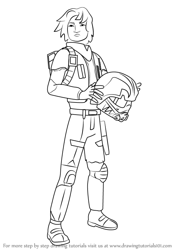Free Coloring Pages Star Wars Rebels