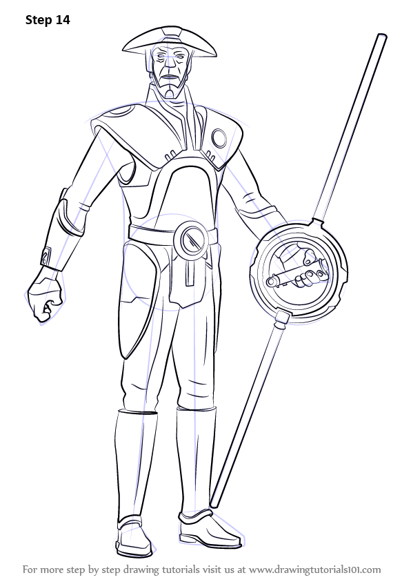 Learn How to Draw Fifth Brother from Star Wars Rebels
