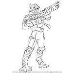 How to Draw Garazeb Orrelios from Star Wars Rebels