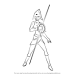 How to Draw Seventh Sister from Star Wars Rebels