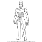 How to Draw The Grand Inquisitor from Star Wars Rebels