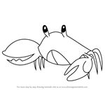 How to Draw Blue Crab from Steven Universe