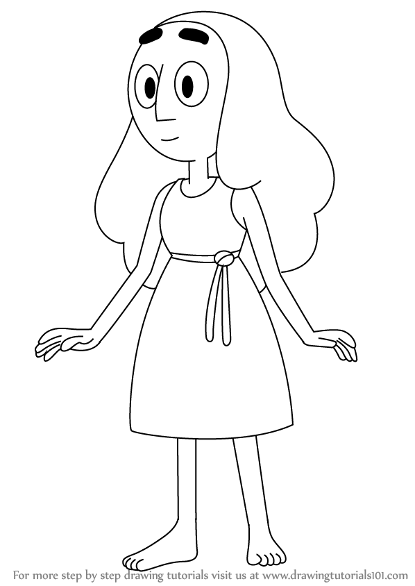 Learn How To Draw Connie Maheswaran From Steven Universe