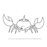 How to Draw Crab Gem Monster from Steven Universe