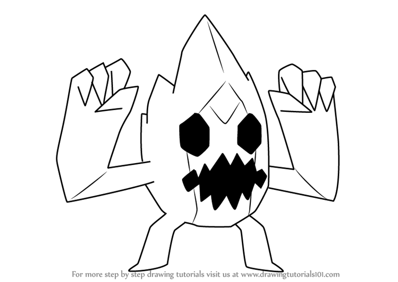 learn how to draw ice monster from steven universe steven universe