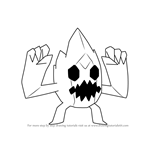 How to Draw Ice Monster from Steven Universe