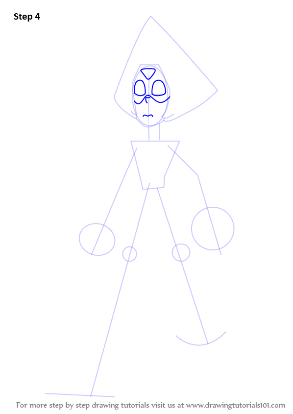 Step By Step How To Draw Peridot From Steven Universe