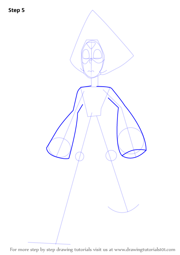 Learn How To Draw Peridot From Steven Universe Steven