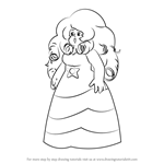 How to Draw Rose Quartz from Steven Universe