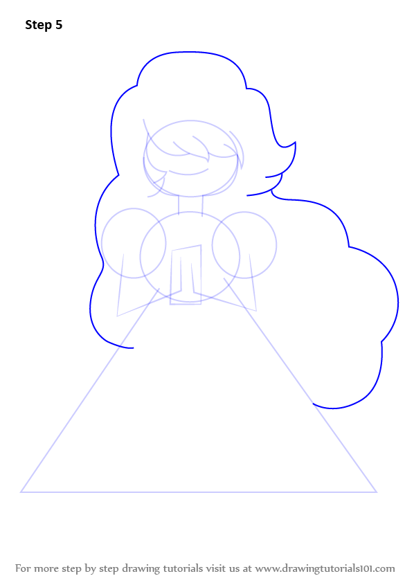 Learn How to Draw Sapphire from Steven Universe (Steven ... Raccoon Drawing Easy