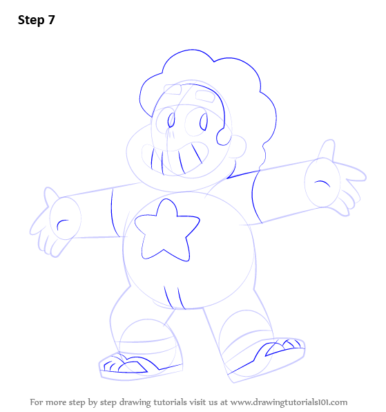 How To Draw Lion From Steven Universe Step By Step