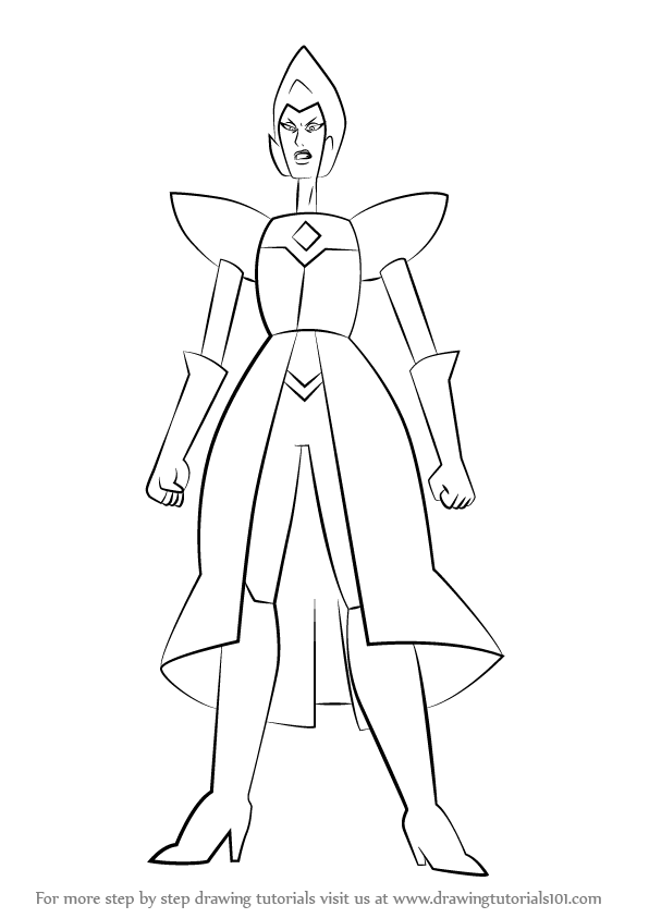 Learn How to Draw Yellow Diamond
