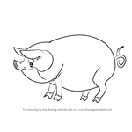 How to Draw Pig from Stoked