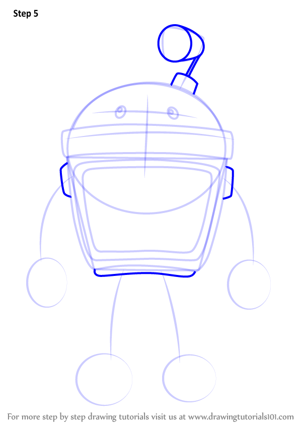 Learn How To Draw Bot From Team Umizoomi Team Umizoomi