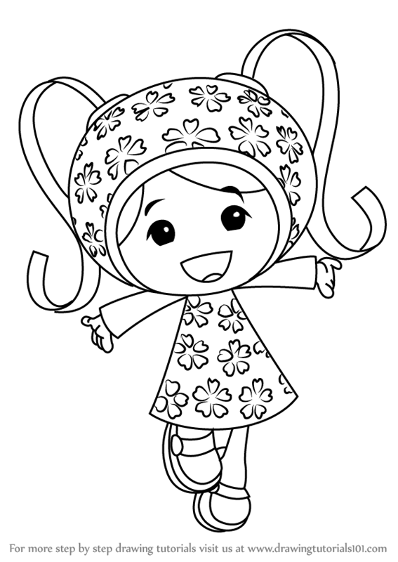 team umizoomi milli coloring pages - photo#9