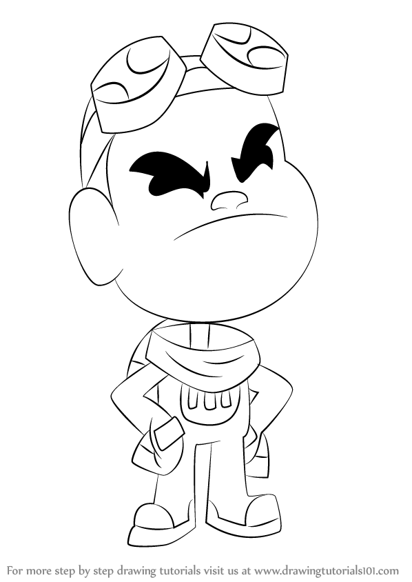 Learn How To Draw Gizmo From Teen Titans Go Teen Titans