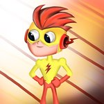 How to Draw Kid Flash from Teen Titans Go