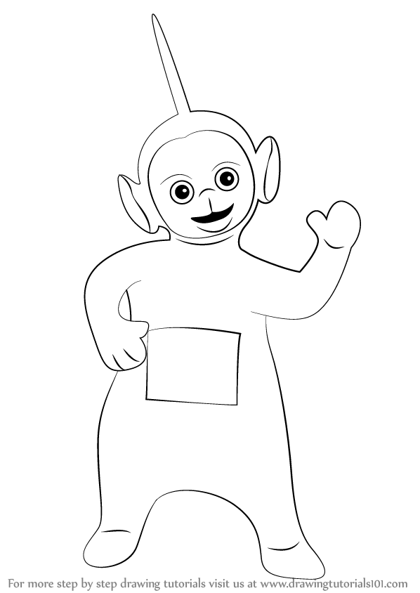 Step By Step How To Draw Dipsy From Teletubbies