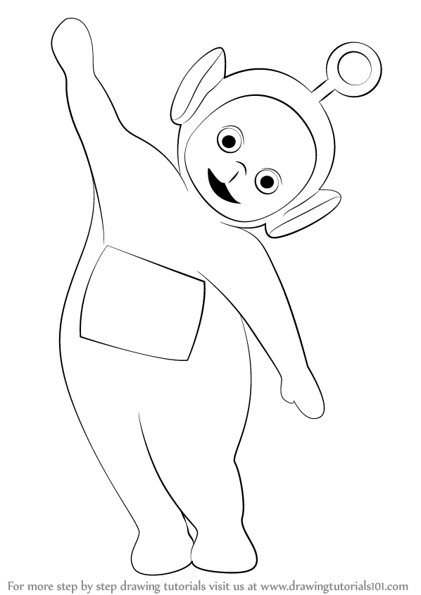 Learn How to Draw Po from Teletubbies (Teletubbies) Step by Step ...