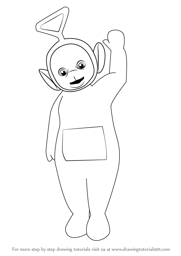 Learn How To Draw Tinky Winky From Teletubbies