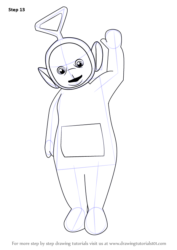 Learn How to Draw Tinky Winky from Teletubbies ...