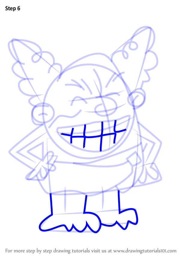 Learn How To Draw Dr Diaper From The Adventures Of