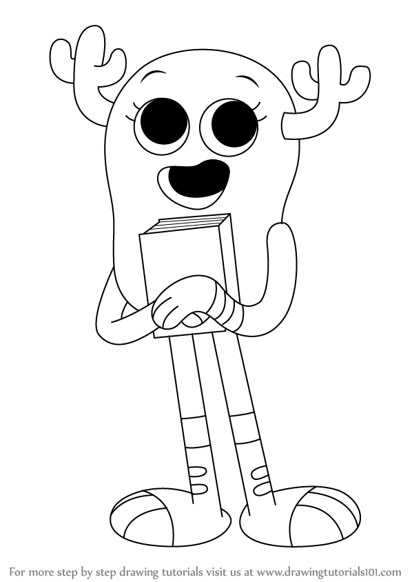 amazing world gumball coloring pages | Amazing World Of Gumball Coloring Pages Sketch Coloring Page