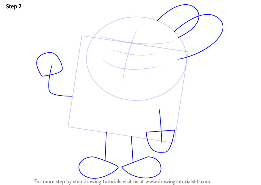 Step By Step How To Draw Richard Watterson From The