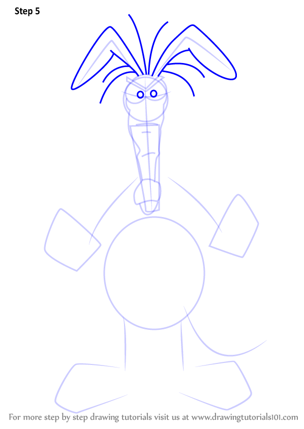 Learn How To Draw The Aardvark From The Ant And The Aardvark The