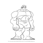 How to Draw Hulk from The Avengers - Earth's Mightiest Heroes!